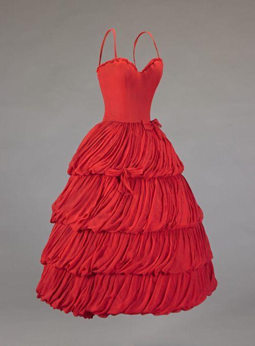 Christian Dior dress ca. 1956