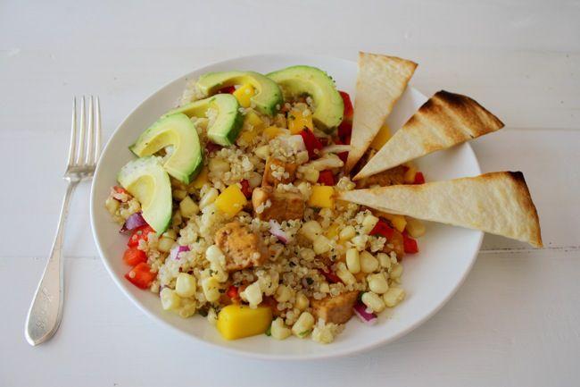 quinoa taco salad | treats | Pinterest