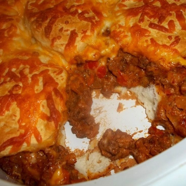 Tasty Beef and Biscuit Bake Recipe | Just A Pinch Recipes