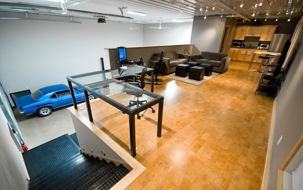 Awesome Man Cave Garage : Garage man cave theater boss ideas for home addition