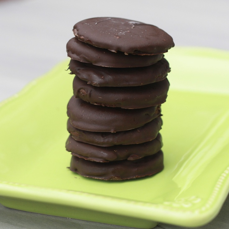 Homemade Thin Mints | I Can Almost Smell the Picture | Pinterest