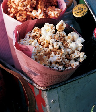 made this Brown Butter Sage Popcorn for a party and it was a huge ...