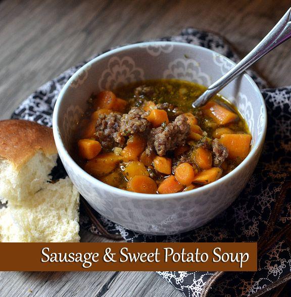 Sausage Sweet Potato Soup - Farmgirl Follies