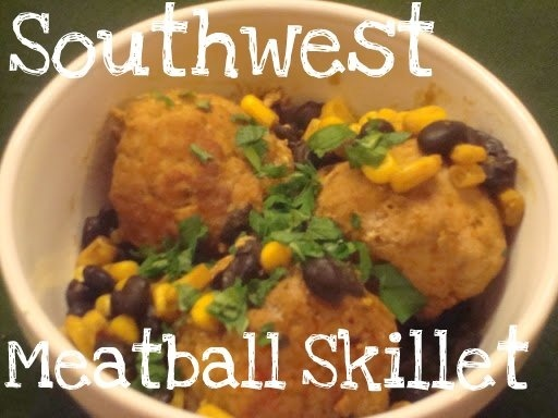 Sweet Love and Ginger: Southwest Meatball Skillet