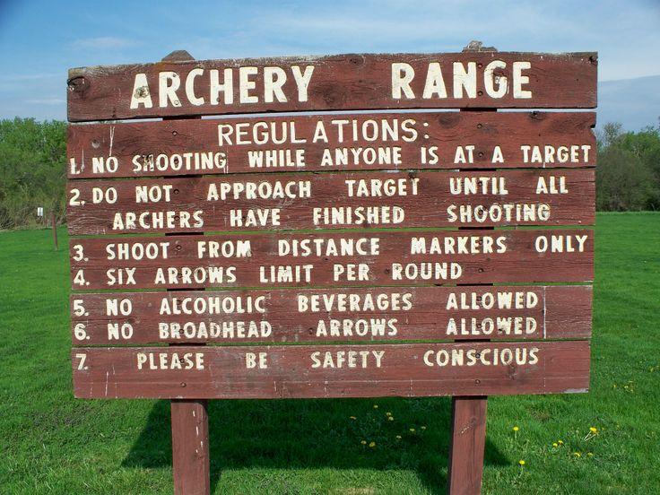Backyard Archery Range Design : Archery Range