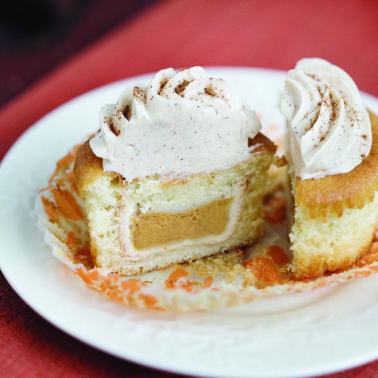 Pumpkin Pie Cupcakes | Recipe