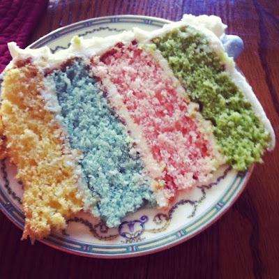Easter layer cake | Easter | Pinterest