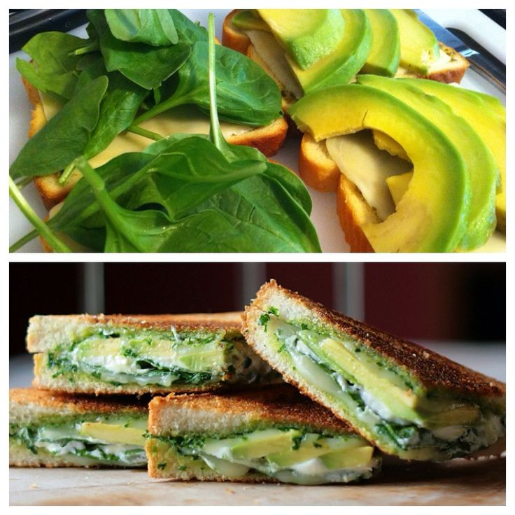 How to Make Avocado Spinach Pesto Grilled Cheese | Recipe