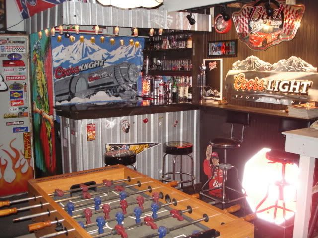 Garage Bar Ideas Mi Casa Pinterest