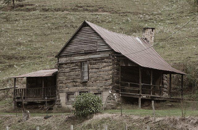 Western N C Log Cabin In 1800s Barns And Farmhouses