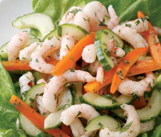 Thai Shrimp Salad Recipe — Dishmaps