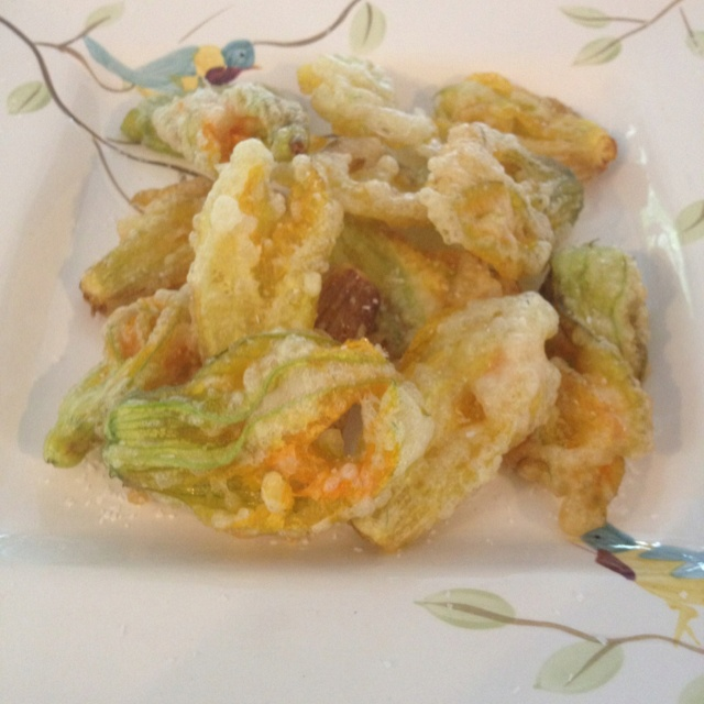Fried squash blossom . . . crispy! | What's cooking in My Kitchen | P ...