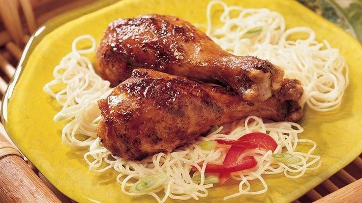 Grilled Asian Chicken Drumsticks | Recipe