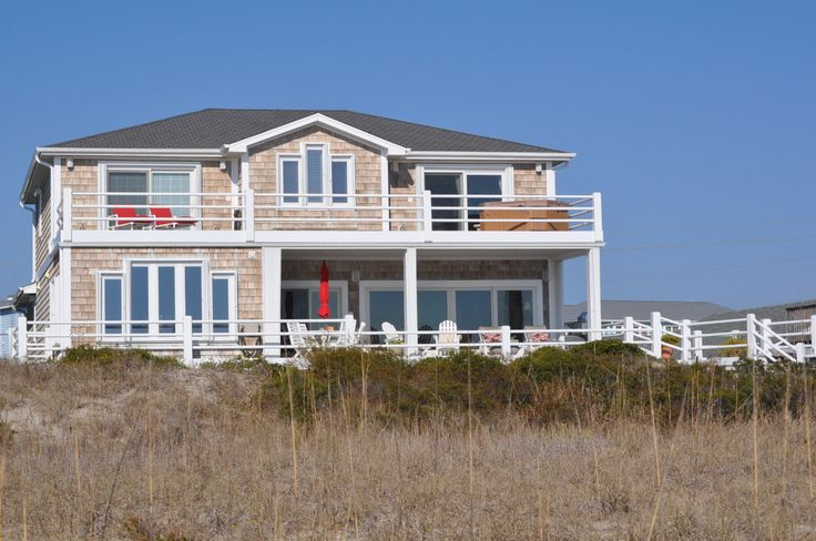 ... Ocean Front Home at the Beach! | Beach Homes in Wilmington NC: pinterest.com/pin/377106168770185405