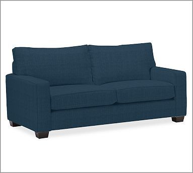 Pb comfort square upholstered sleeper sofa potterybarn