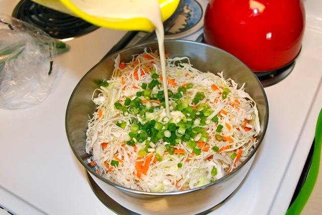 Light And Tangy Cole Slaw Recipe — Dishmaps