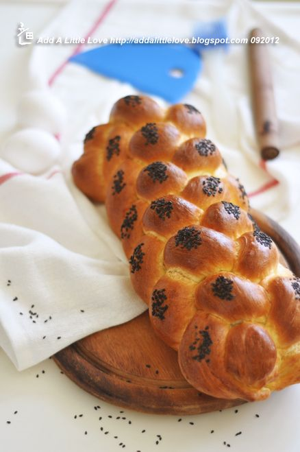 Classic Challah Braided from 6 Strands | Bread and Rolls | Pinterest