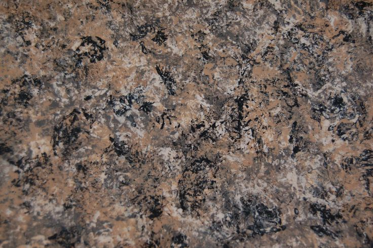 Faux Granite Countertop Paint Diy : close-up of painted countertop Kitchen Pinterest
