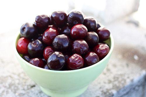 Cherries in Red Wine Syrup #cherries