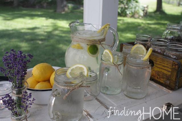 Lavender Meyer Lemon Tom Collins Cocktail Recipes — Dishmaps