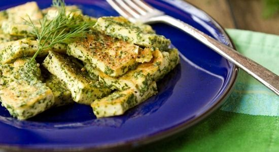"Easy Lemon Dill Tofu from ""Oh She Glows"" blog"