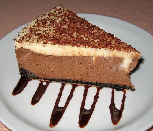 fooderific: ilufood: Fudge Truffle Cheesecake find more...