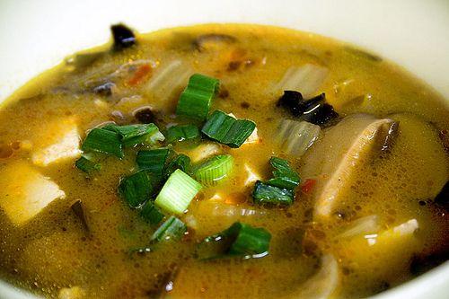 vegan hot and sour #soup. #recipe | Vegan Soups & Stews | Pinterest