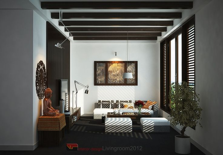 Zen living room interior decor upscale bohemian pinterest for Living room ideas zen
