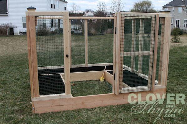 Diy garden enclosure garden diy pinterest for Garden enclosure