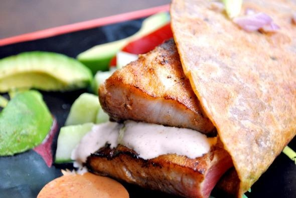 Fish tacos recipe for Serving size of fish
