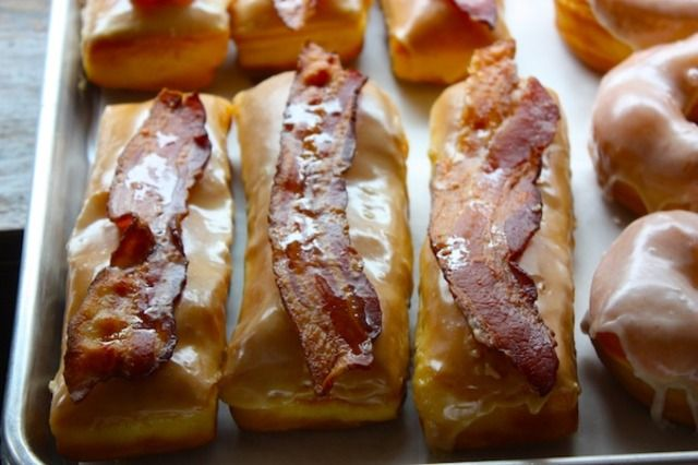 OK...I must check this doughnut shop out. maple-bacon long johns at ...