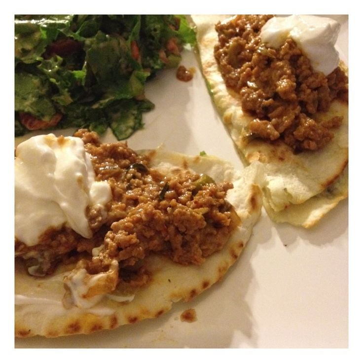 Buffalo-style ground turkey on blue cheese and cheddar quesadillas ...
