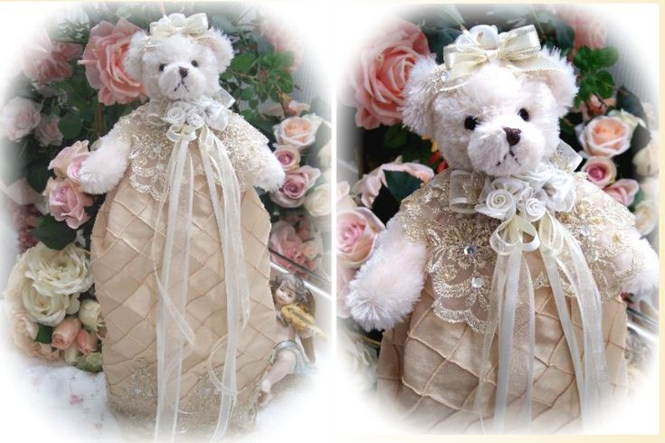 Comhome Interior Bears : Comhome Interior Bears : Romantic Victorian Teddy Bear