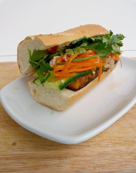 Tofu Banh Mi | Mangiare | Pinterest