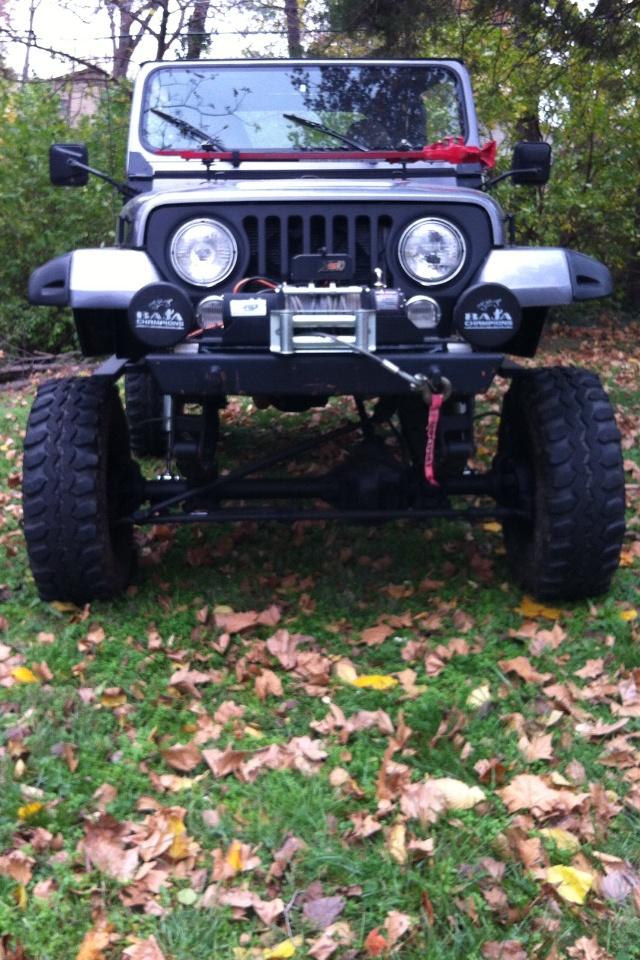 7 slot grill jeep