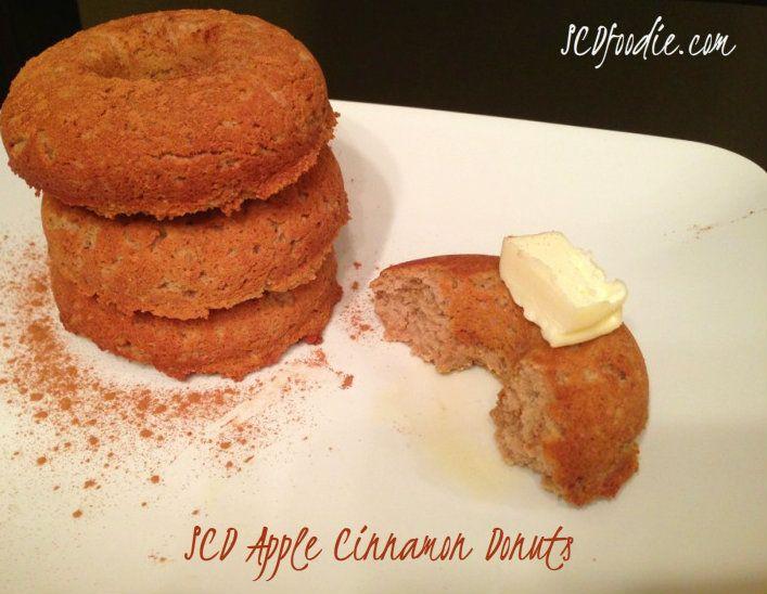 Apple Cinnamon Doughnuts Recipe — Dishmaps