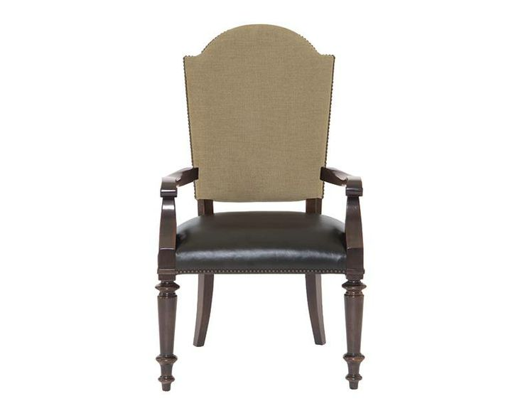 Pacific Canyon Leather Seat Arm Chair Bernhardt Star