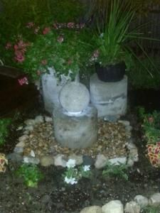 User submitted photo | water fountains craft & summer outside | Pinte ...