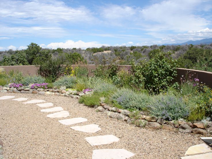 Xeriscape Backyard Ideas :  xeriscaping in santa fe xeriscaping is a method of landscape design