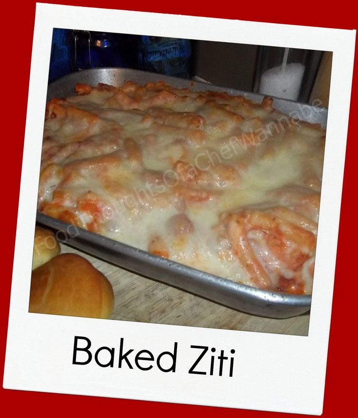 Baked Ziti III Recipe — Dishmaps