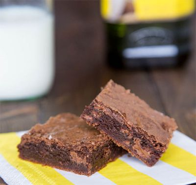Double Chocolate Olive Oil Brownies #STAROliveOil