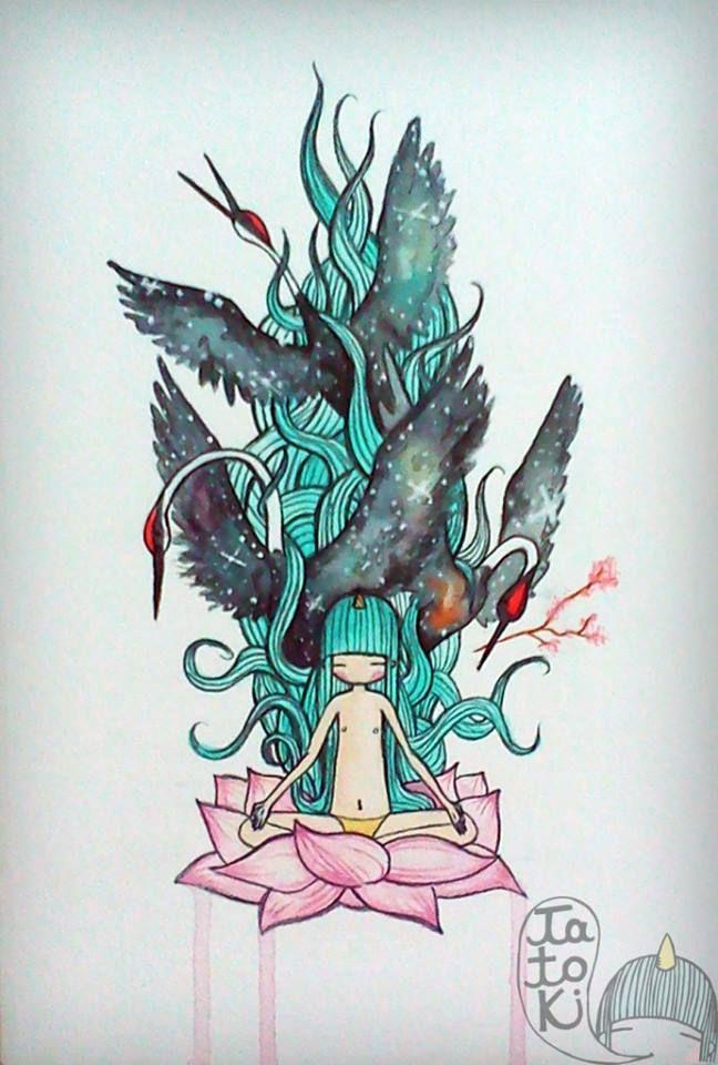 Tatoki | Ilustraciones | Pinterest