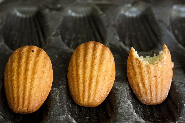 Lemon glazed Madelines -David Lebovitz   Treats   Pinterest