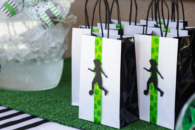 Favors from a Soccer Party #soccer #partyfavors