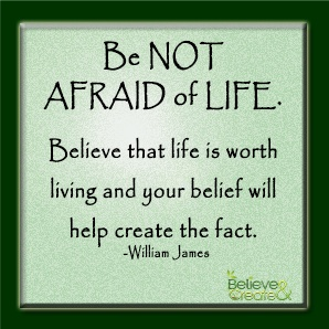 image quote believe that life worth living and your belief will Quotes