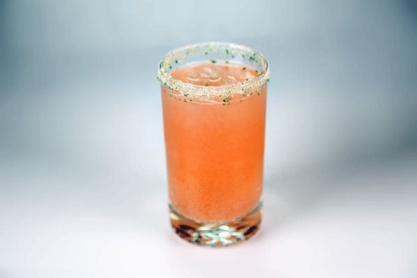 Strawberry Basil Soda by Carla Hall NOTE: Can be made as an 'adult ...