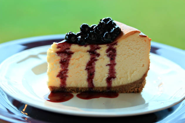 Best Cheesecake Recipe With Blueberry Topping | Recipe