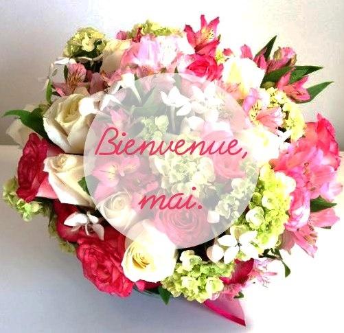 C'est Chic Atelier das Flores dando as boas vindas ao mês de Maio