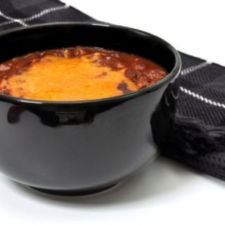 Hot Cheesy Bean Dip in a Crockpot | Crockpot | Pinterest
