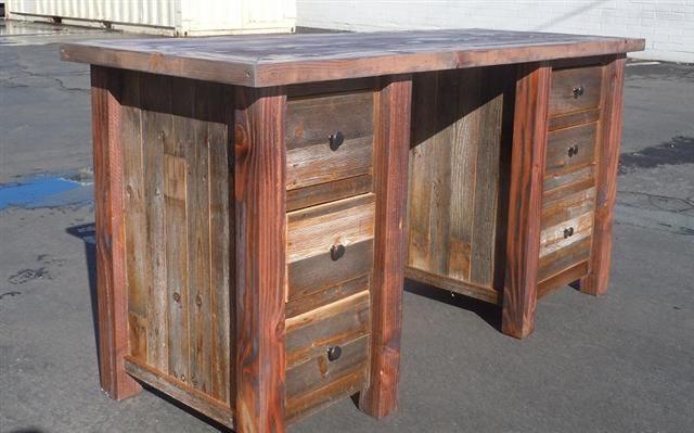 barnwood desk For the Home